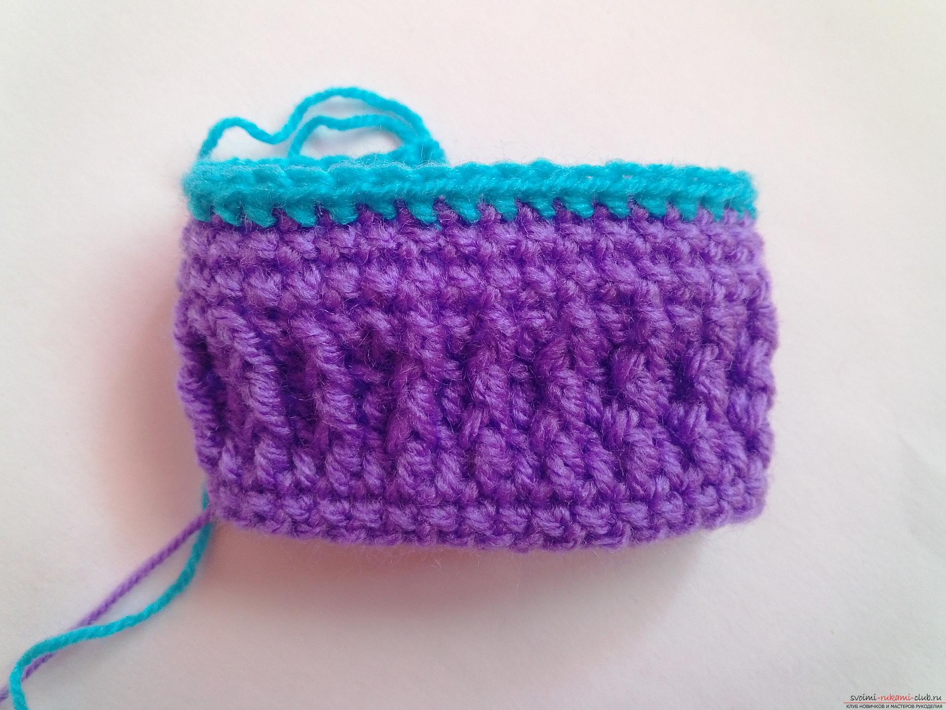 Вязание крючком для начинающих. 50 простых схем вязания 31