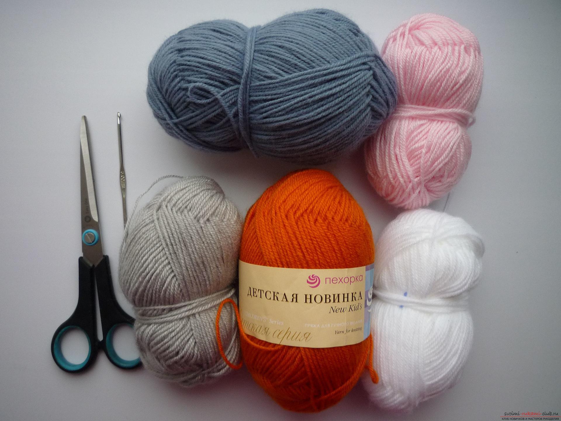 Какие нитки нужны для вязания крючком цветов Пряжа