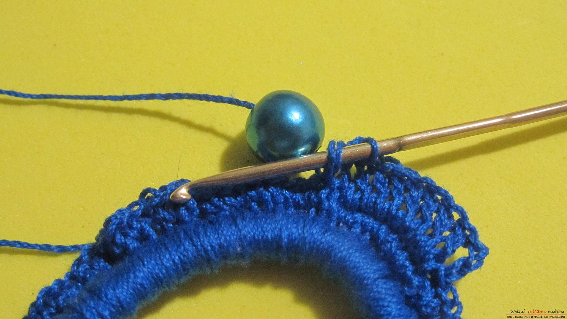 Как связать резинку крючком - Вязание крючком 56