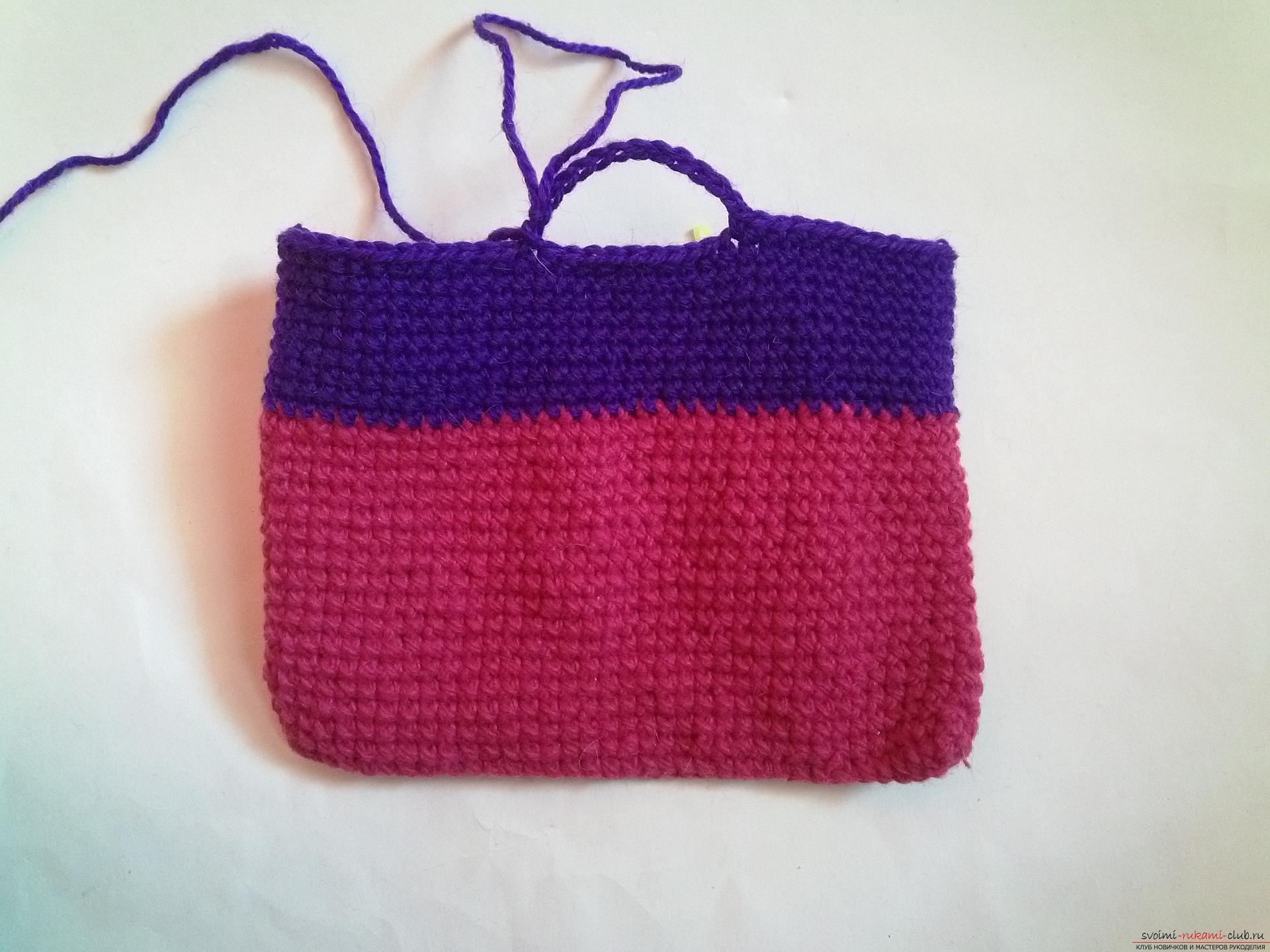 Вязание сумок крючком видео-уроки 856