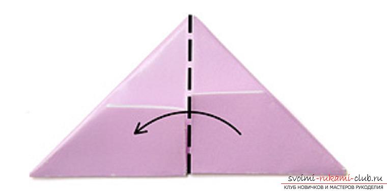 модульное оригами лебедя. Фото №11