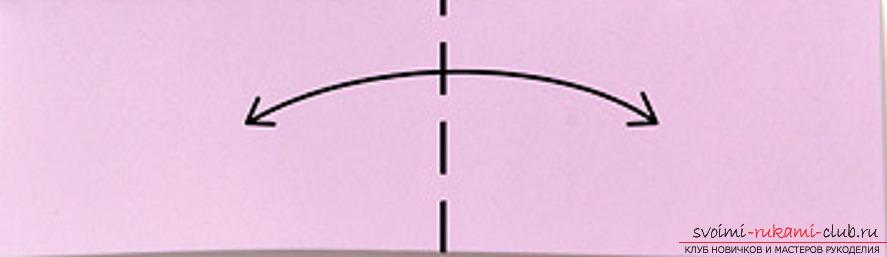 модульное оригами лебедя. Фото №6