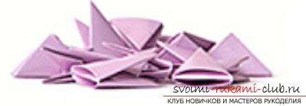 модульное оригами лебедя. Фото №21