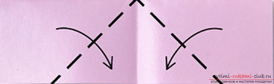 модульное оригами лебедя. Фото №7
