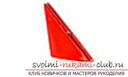 модульное оригами лебедя. Фото №14