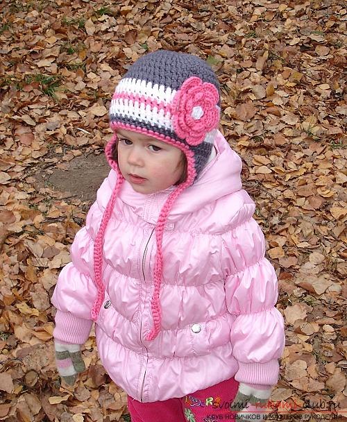 Схемы вязания крючком шапочки на осень