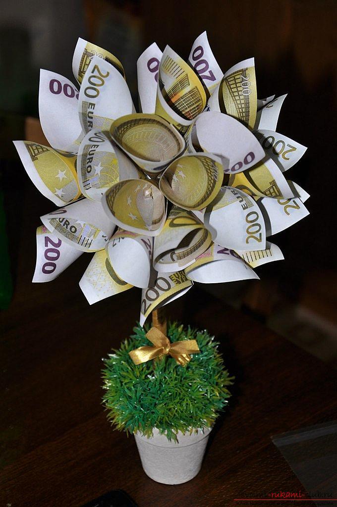 Фото денежного дерева своими руками 12