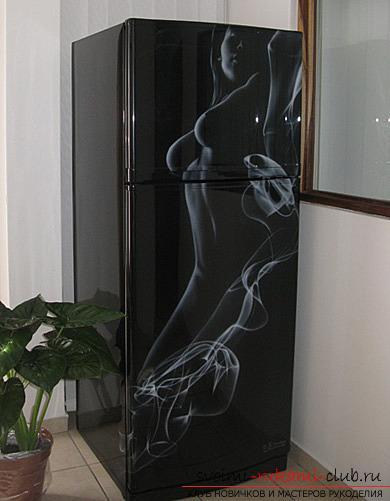 Рисунки своими руками на холодильник