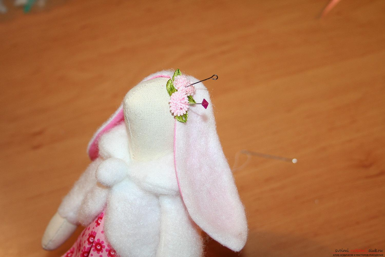 Как сделать глаза для тильды зайца