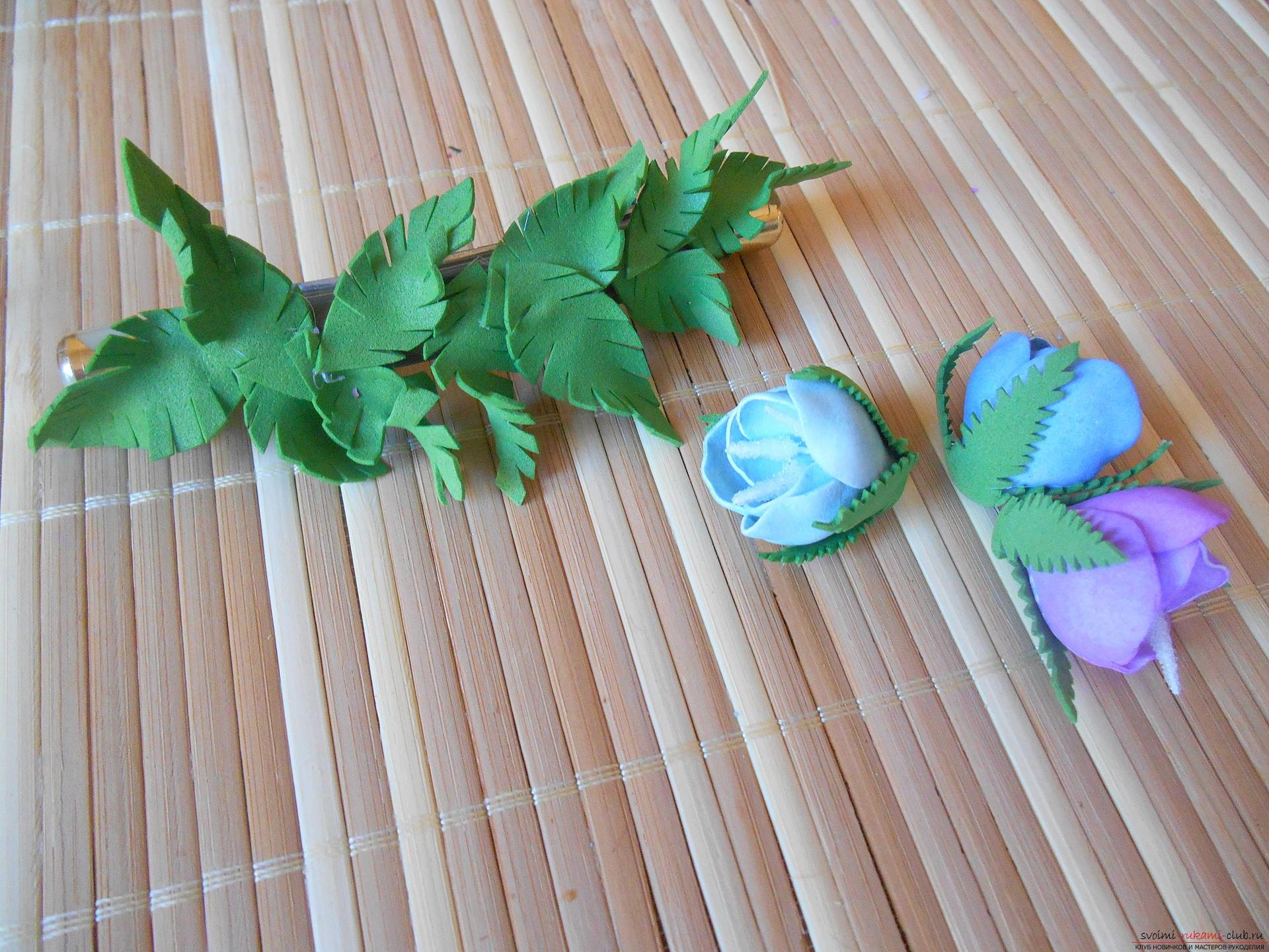 Резинки из фоамирана своими руками с пошаговым фото