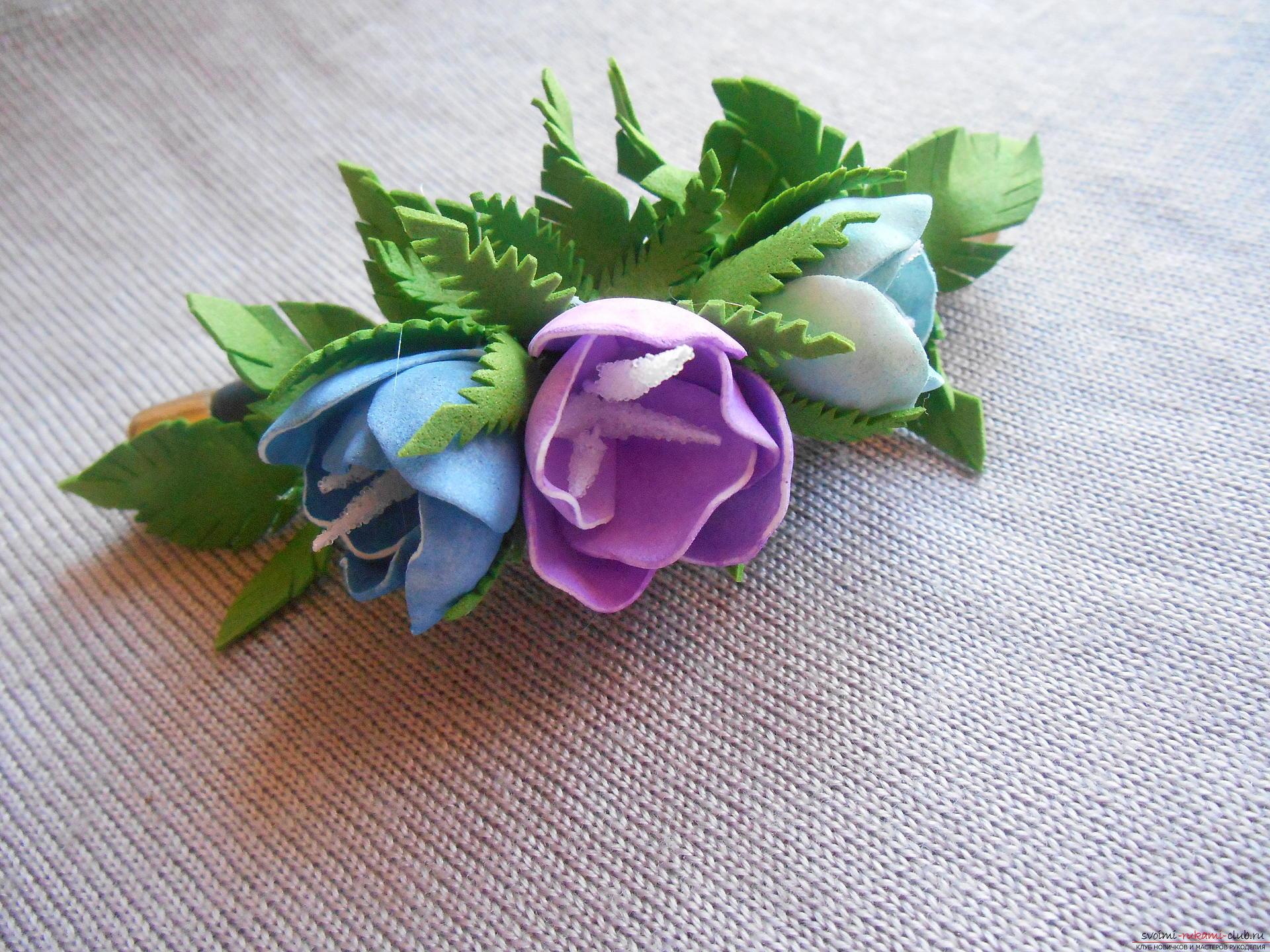Поделки своими руками делать цветы