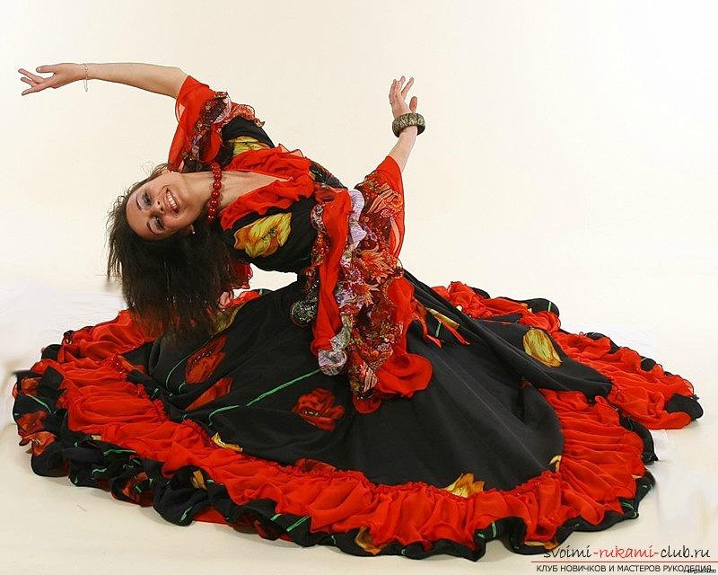 Цыганский костюм с выкройкой