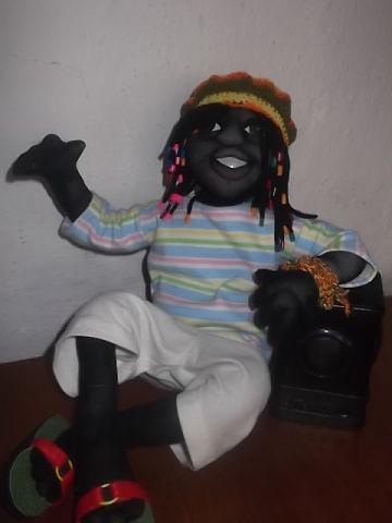 Кукла из капрона: Растаман. Фото №1