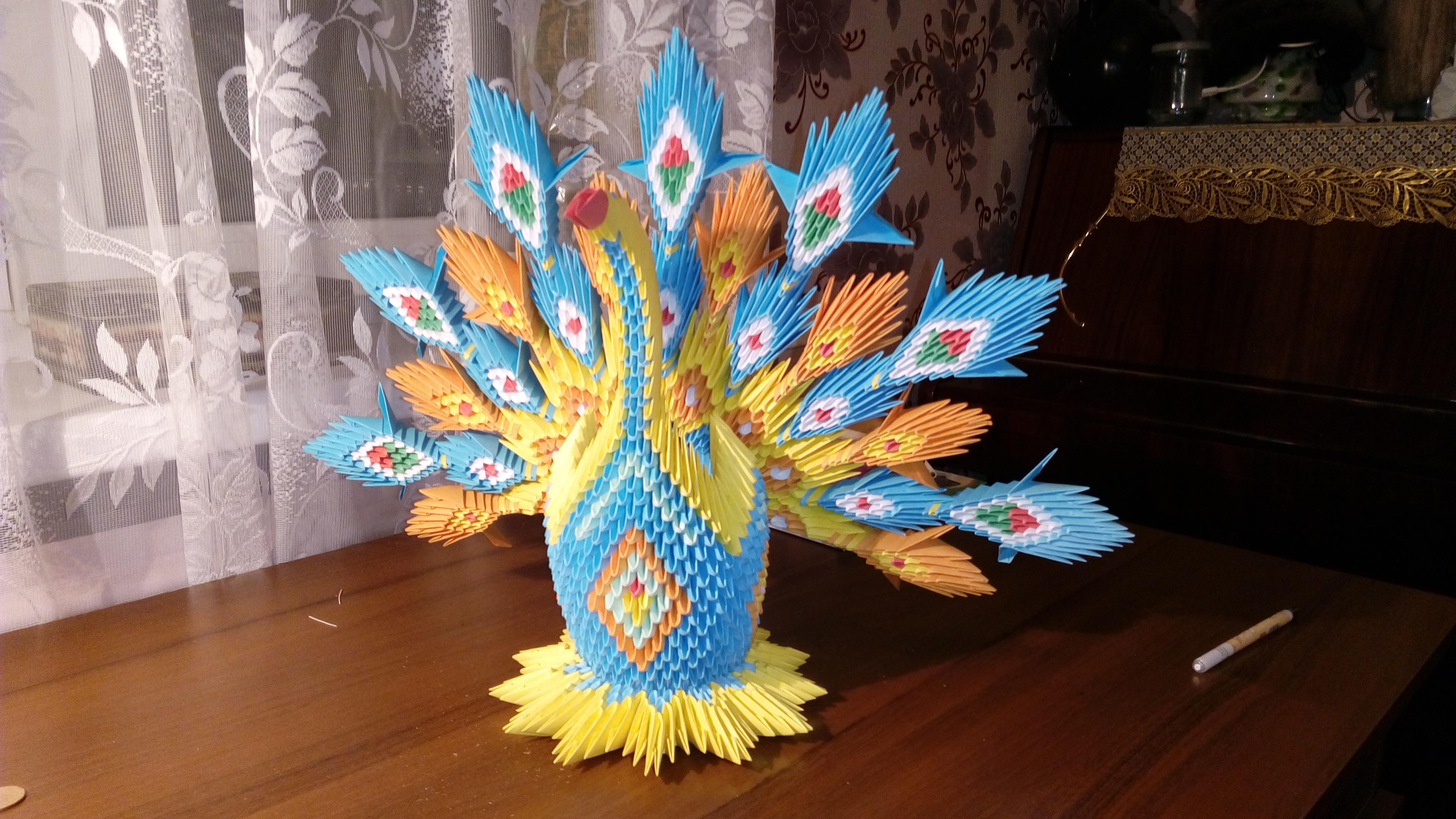 Модульное оригами схемы с пошаговыми фото