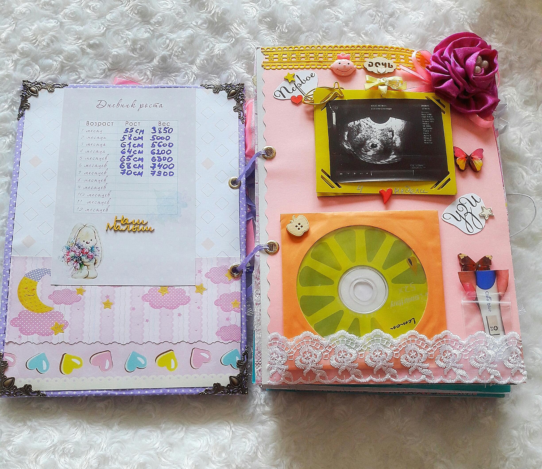 Фотоальбом для новорожденного своими руками 14