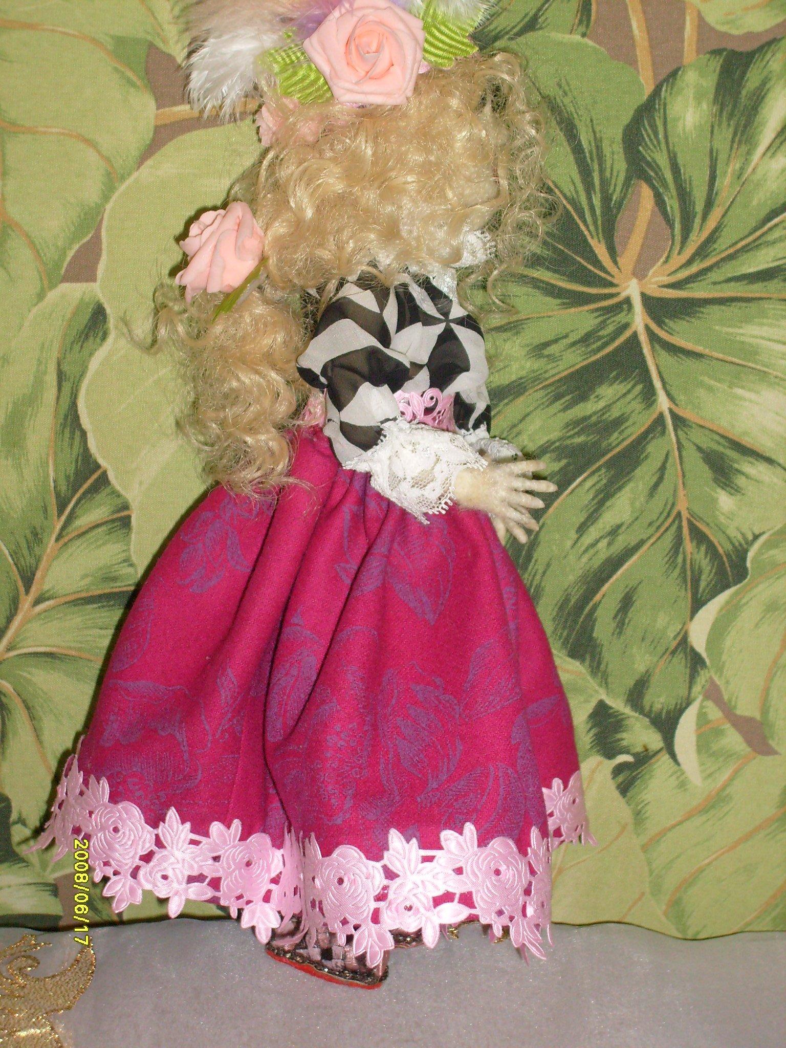 Куколка Мадлон, куклы своими руками