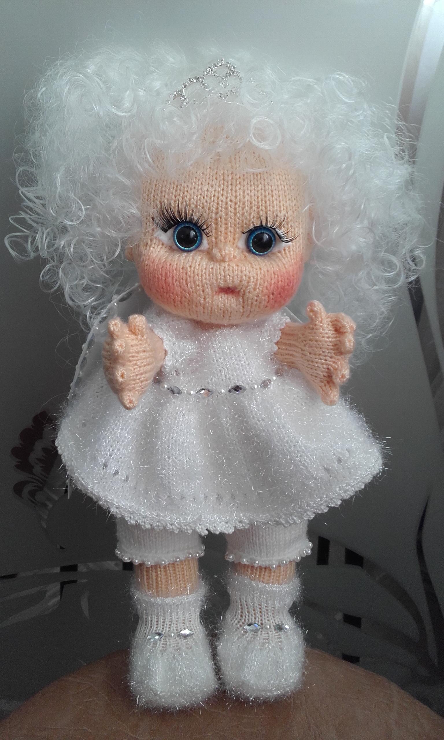 Вязаная кукла для начинающих