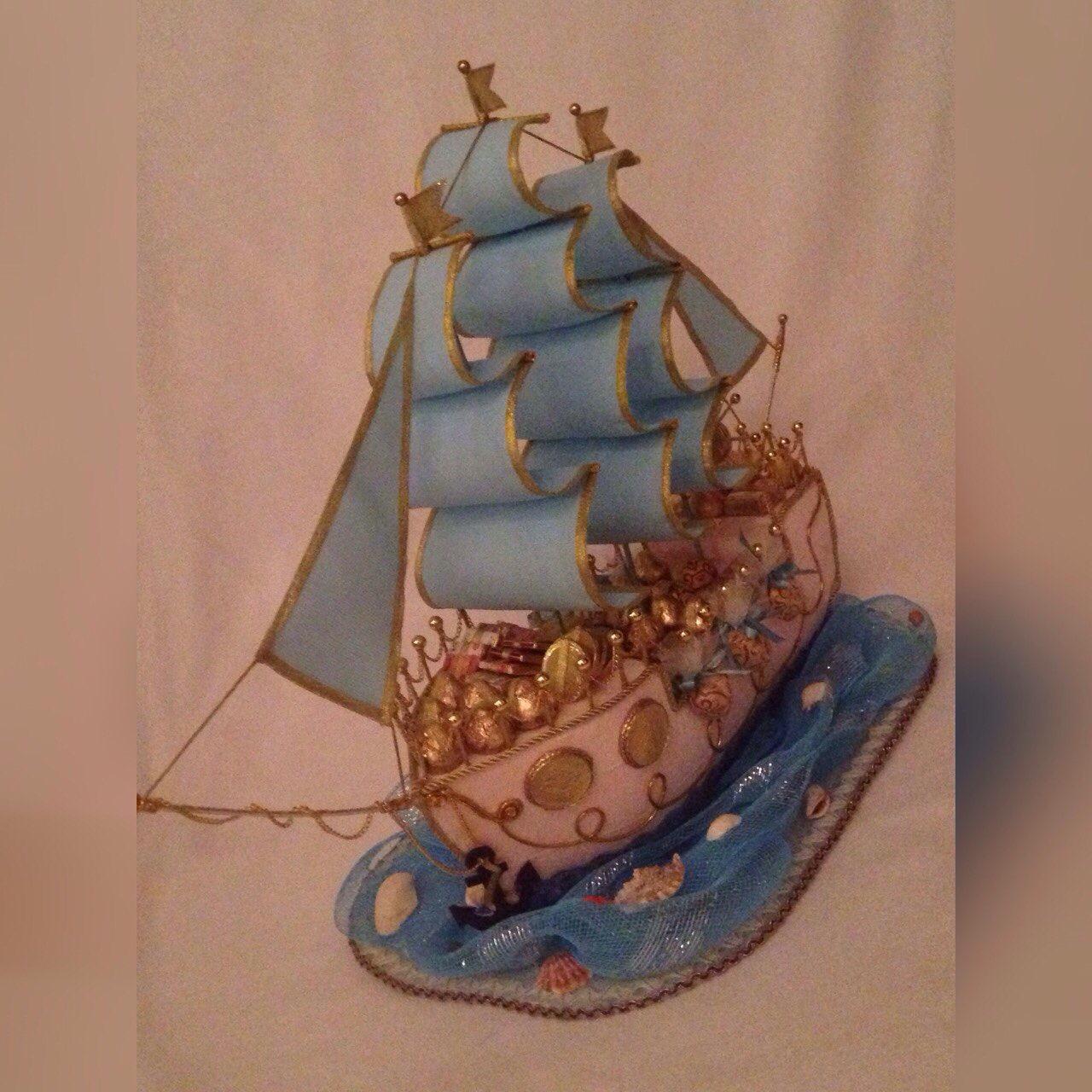 Корабль своими руками пошаговое фото для начинающих