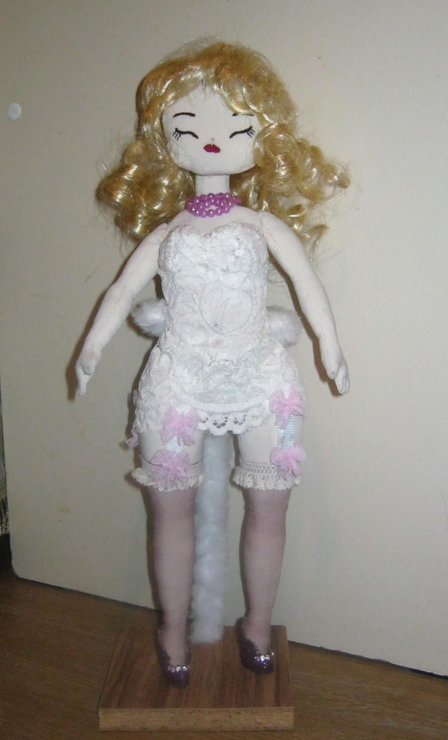 текстильная кукла МОНРО. Фото №2