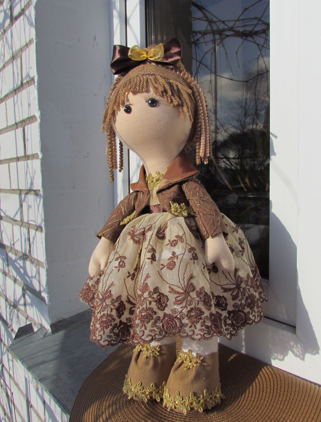 Мастер-класс по изготовлению тела для куколки-большеножки