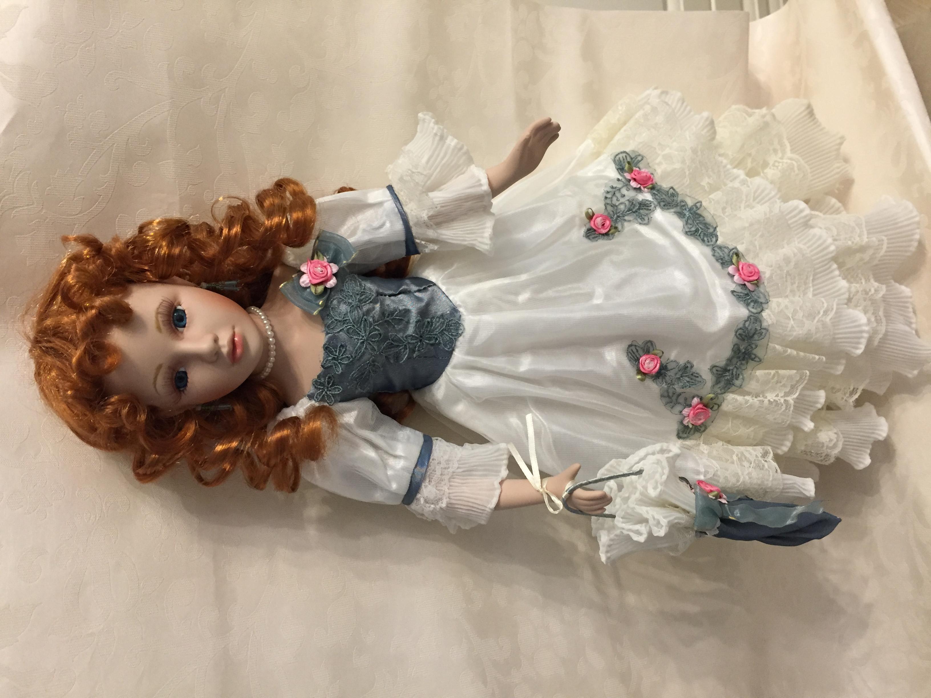 Коллекционная кукла своими руками. Фото №5