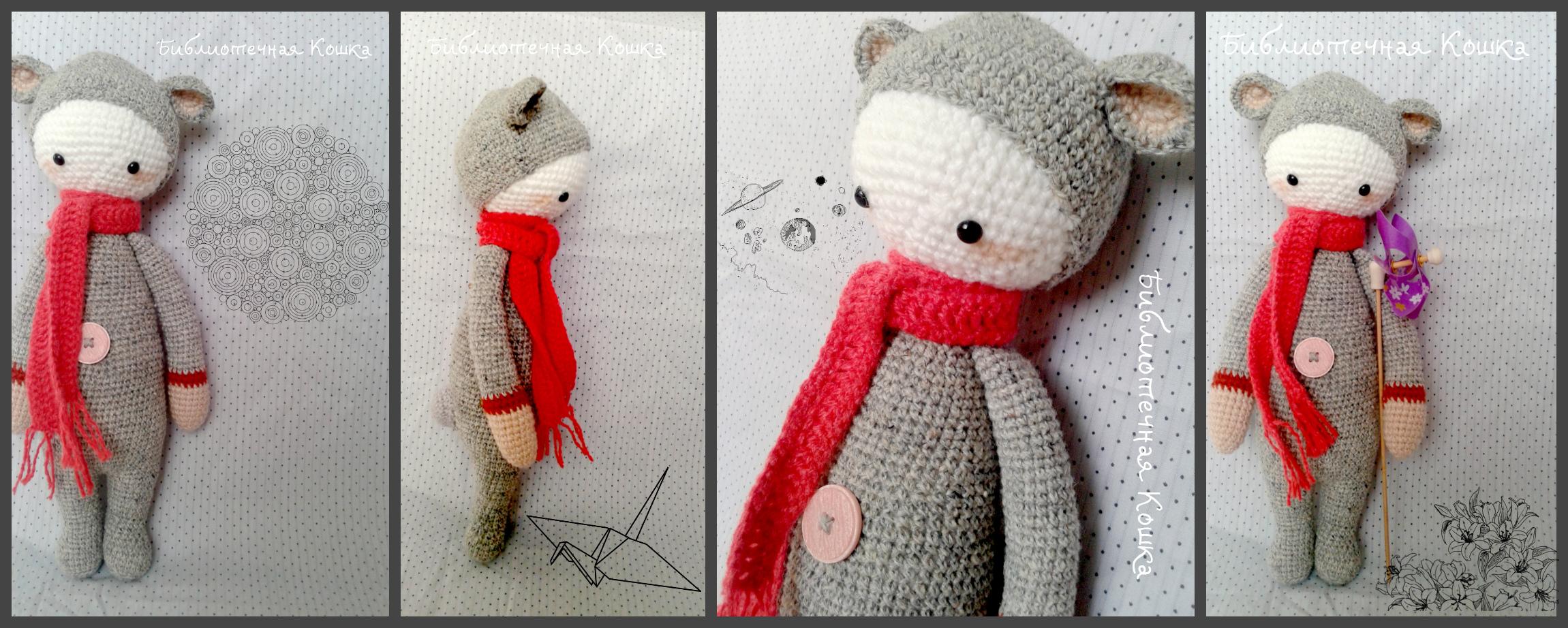 Амигуруми: Малышка Момо, вязание крючком амигуруми схемы для начинающих