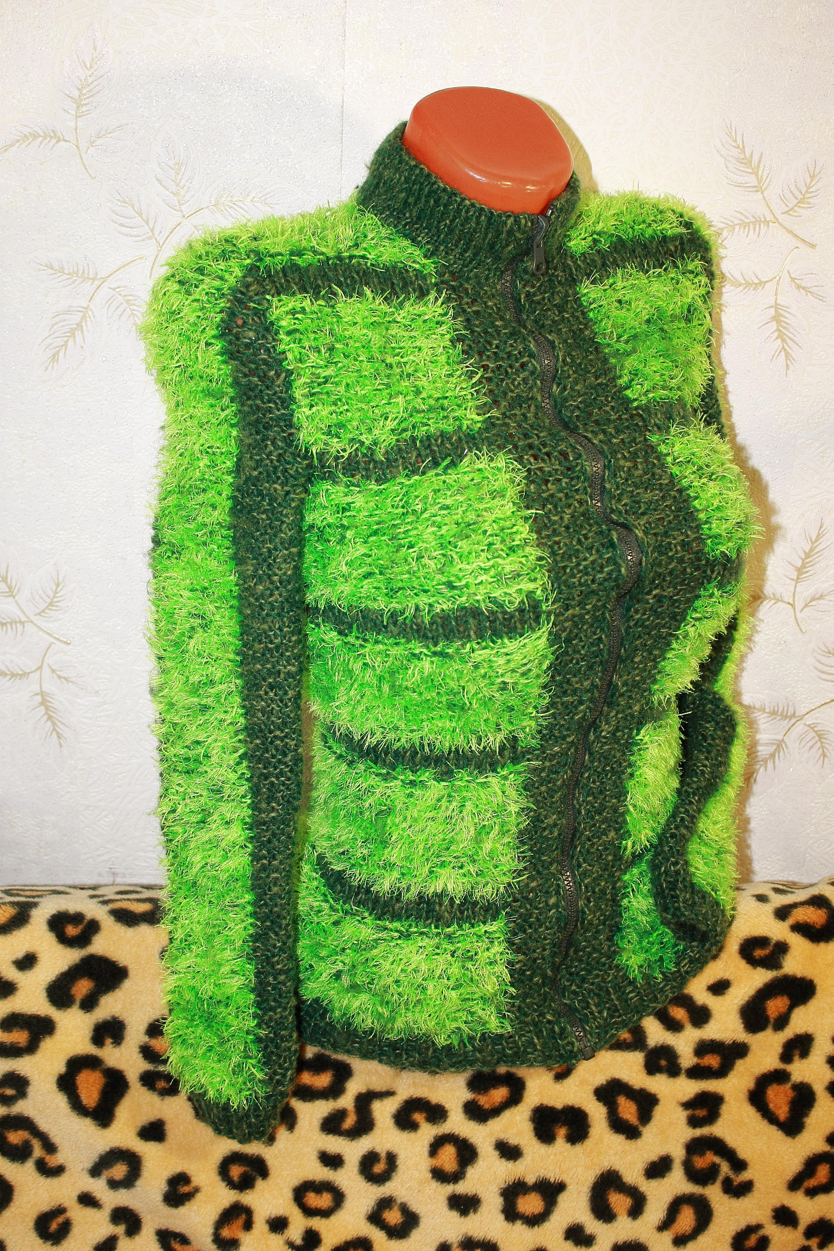подробную схему вязания из пряжи травка для детей