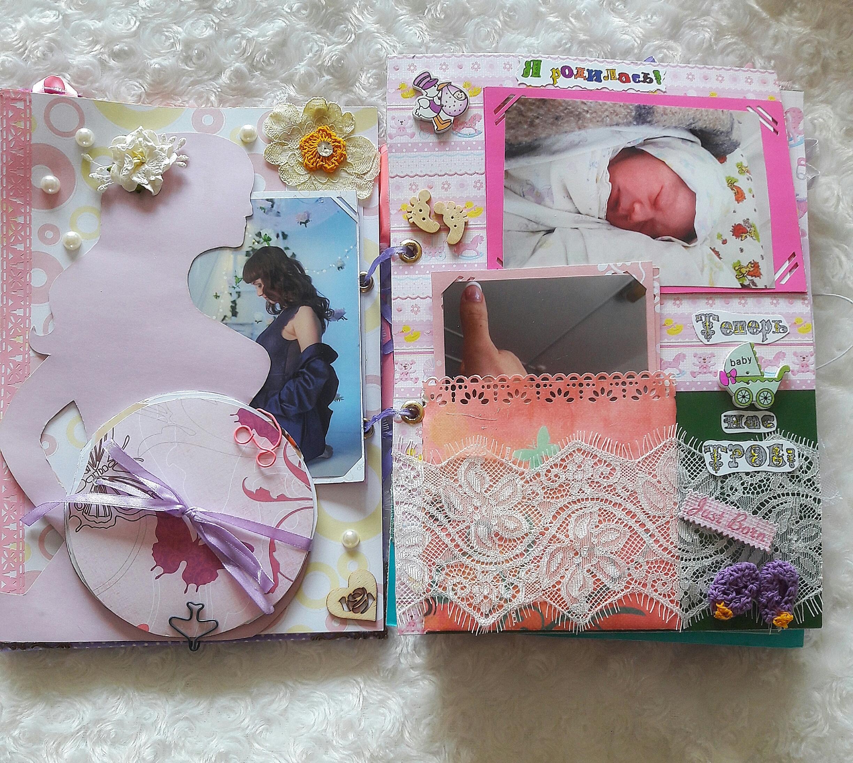 Фотоальбом для новорожденного своими руками 55