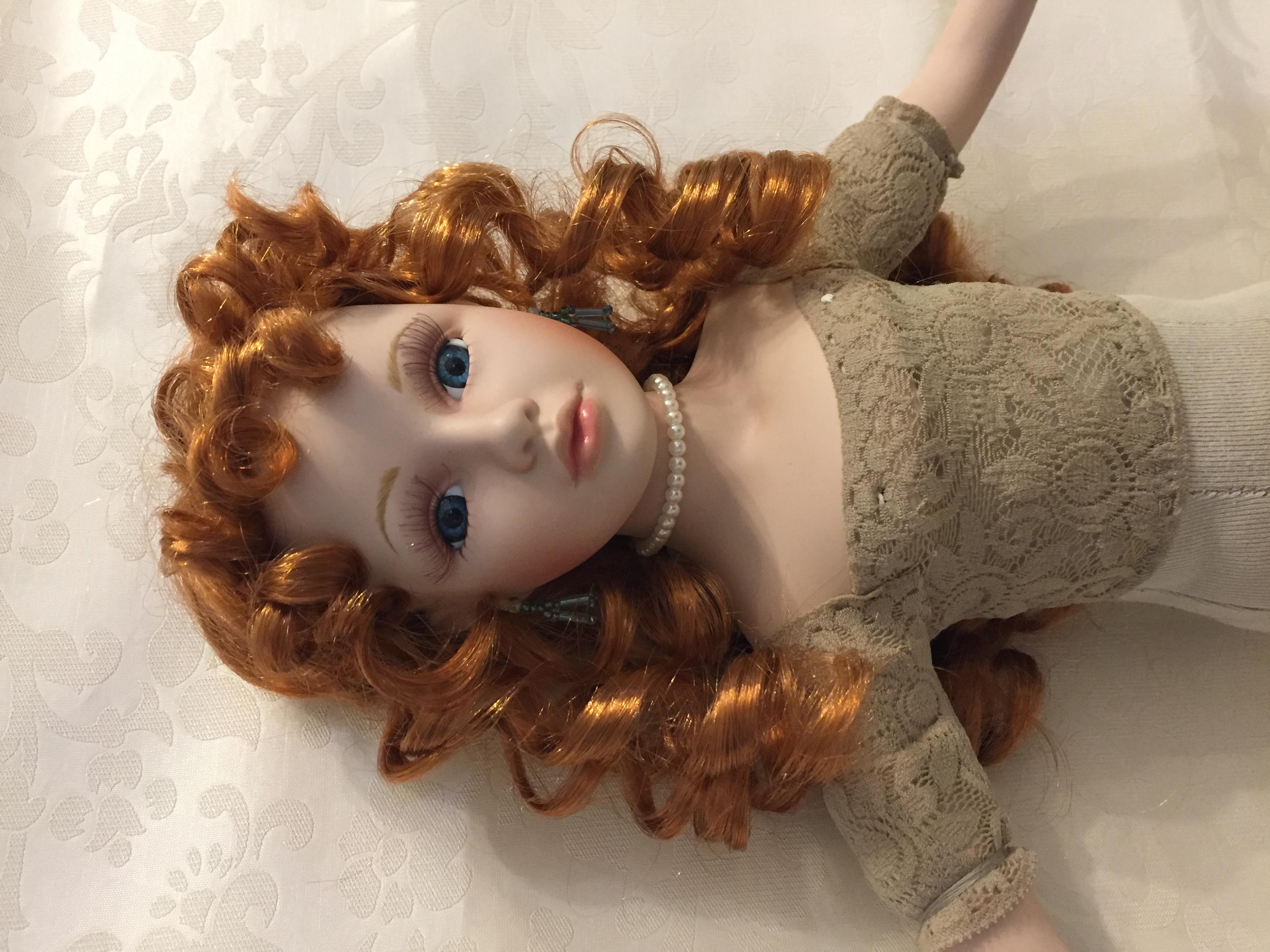 Коллекционная кукла своими руками. Фото №2