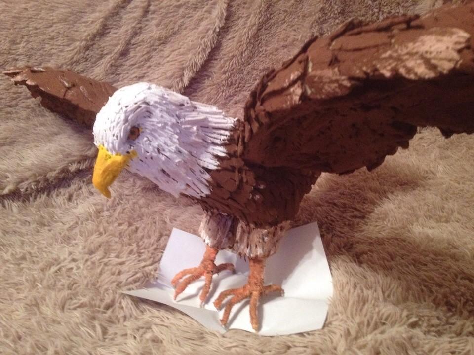 Сделать орла своими руками