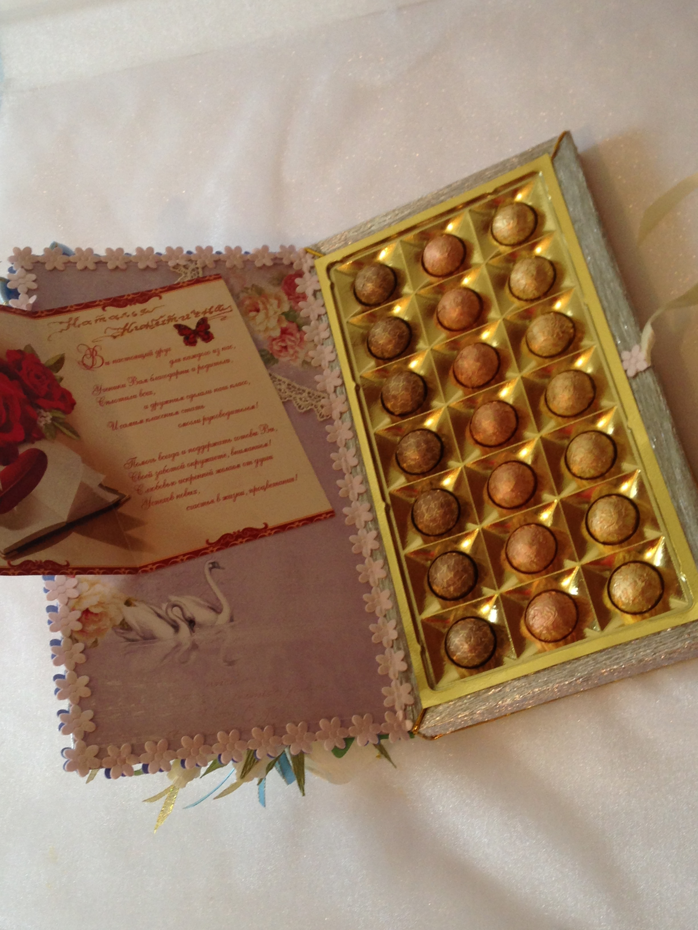 Еелка из коробки от конфет » Сделай сам 49