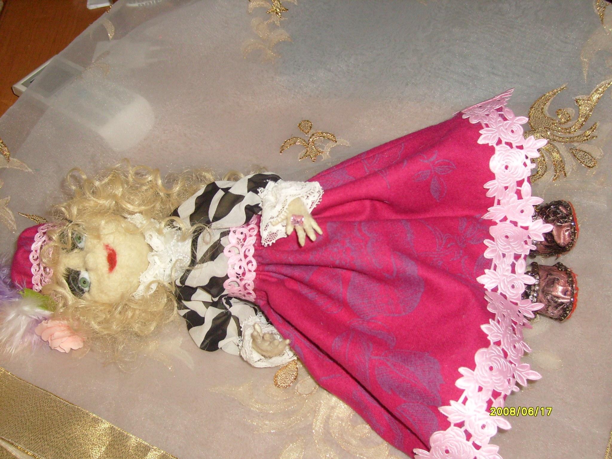 Куколка Мадлон, куклы своими руками от мастера vkusgranata
