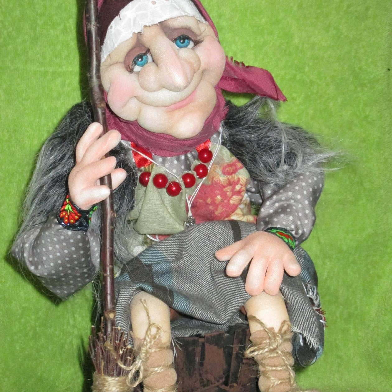 Как сделать куклу Баба Яга своими руками 65