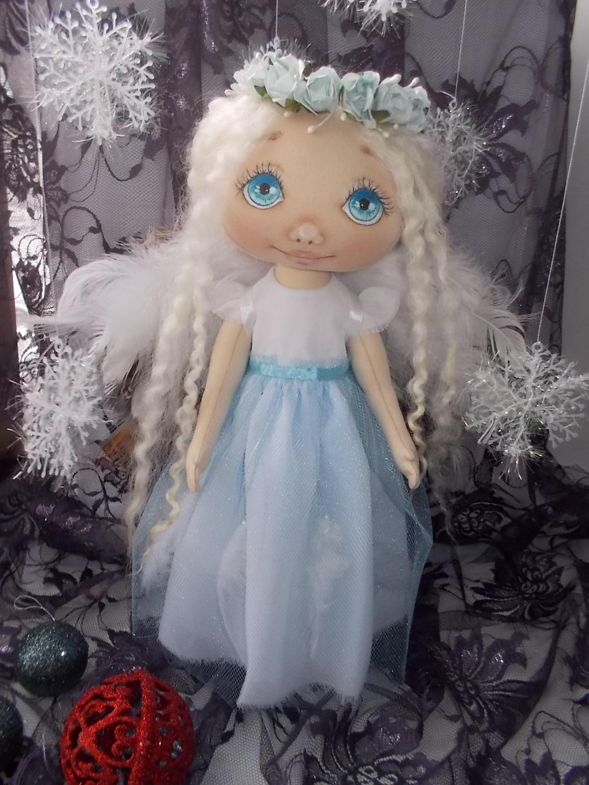 Шитье куклы: Снежанна, куклы своими руками