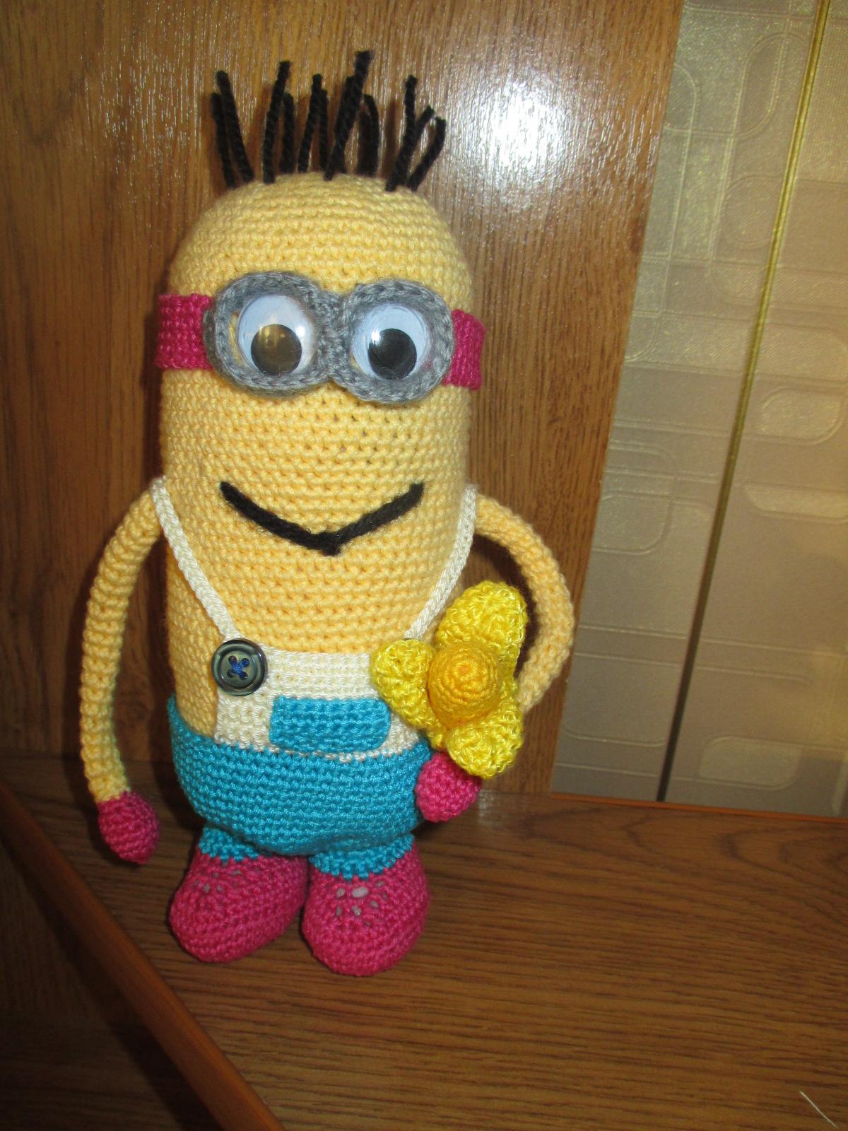 Красивые игрушки амигуруми: Вязаный Миньон - вязание ...