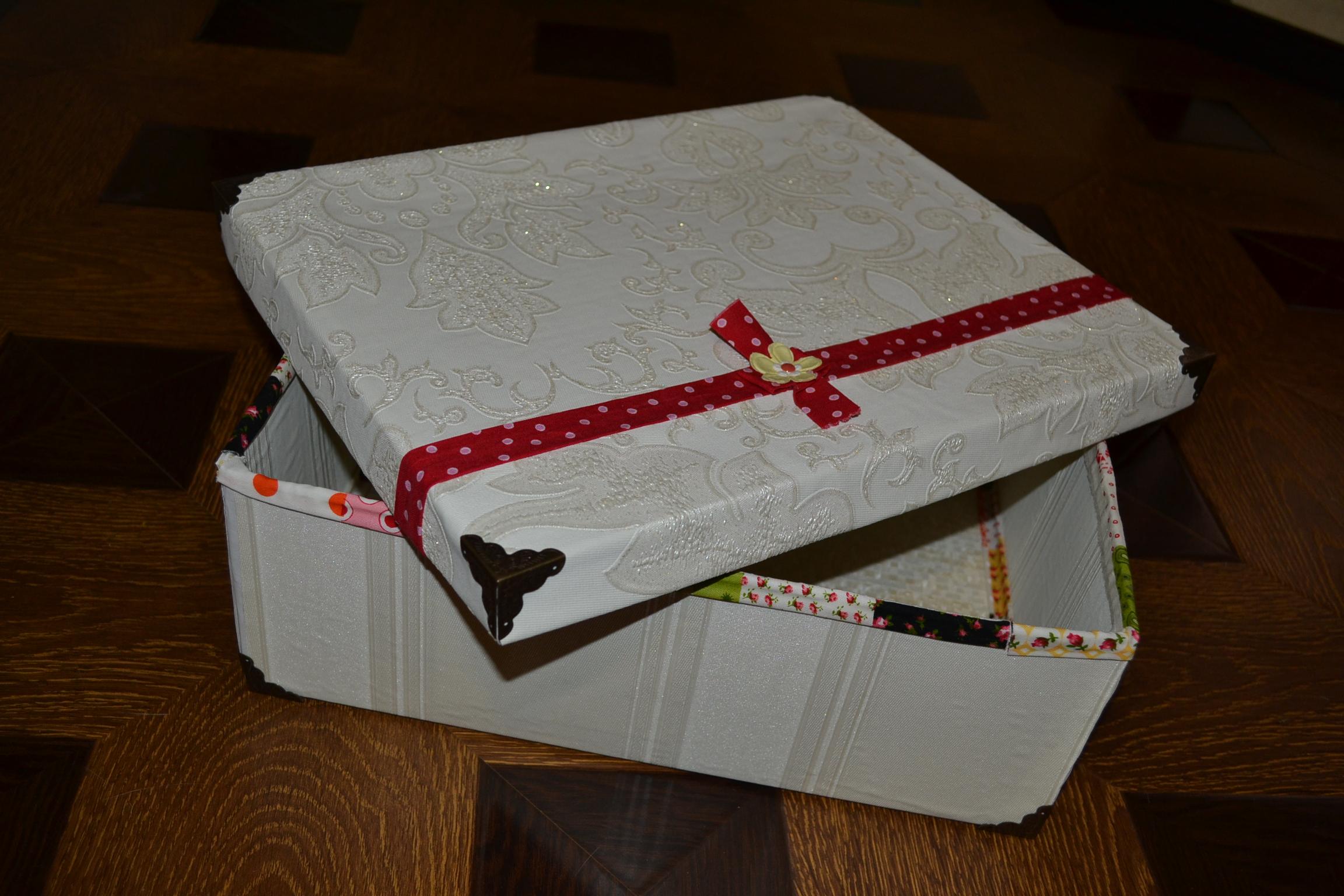 Подарочная коробка своими руками: пошаговая 98