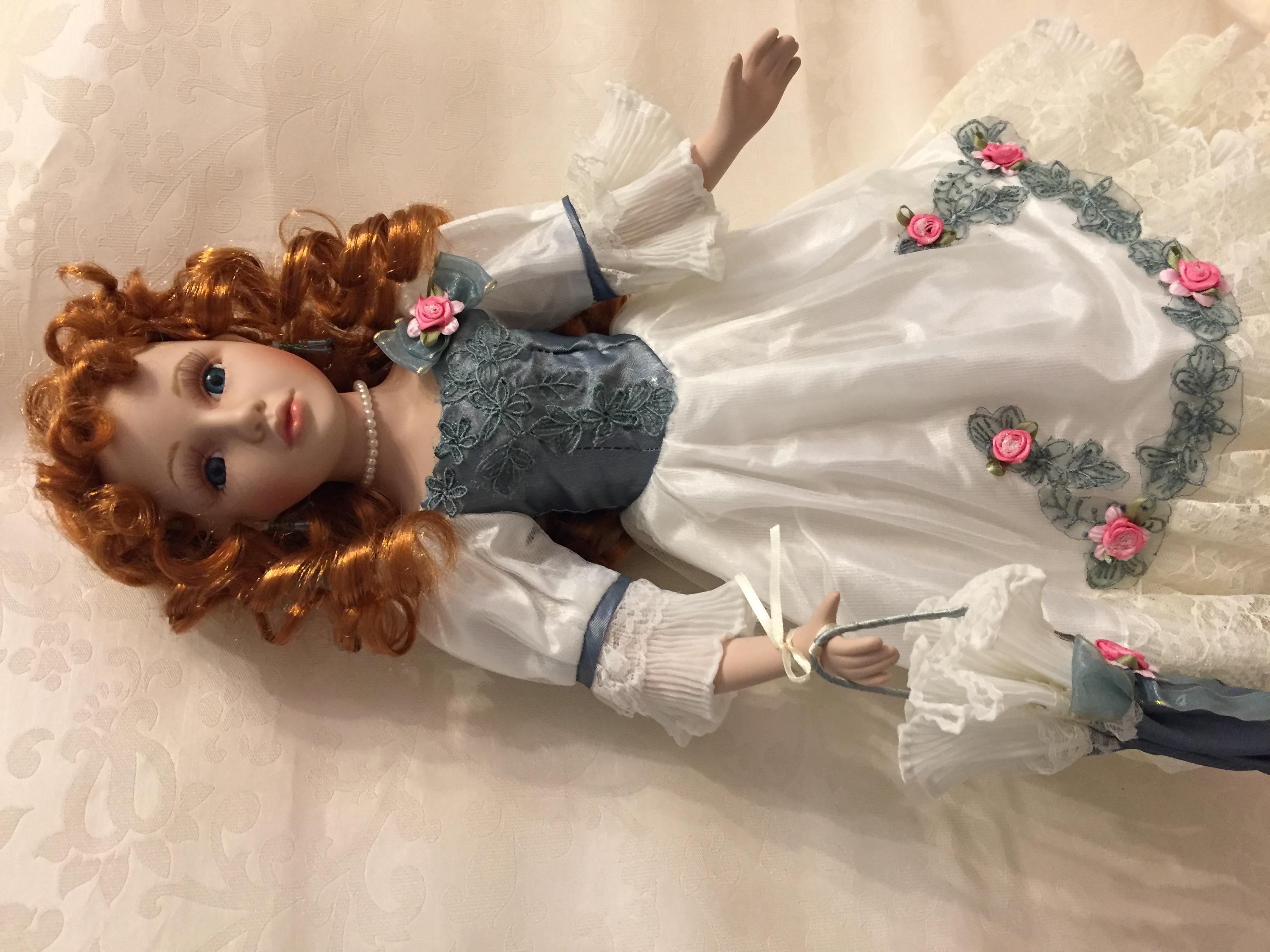 Коллекционная кукла своими руками. Фото №4