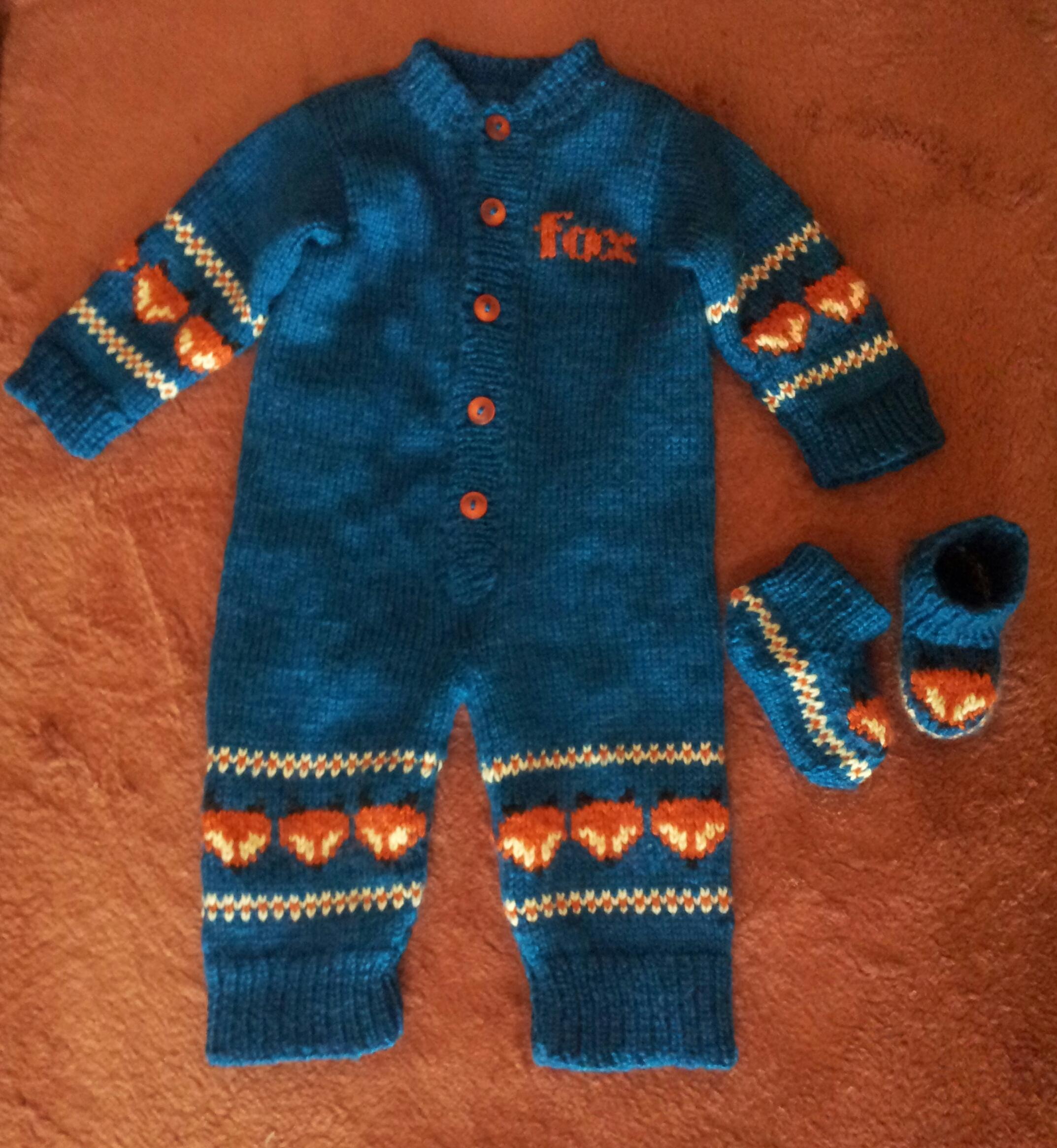Вязание спицами для детей:  комплект