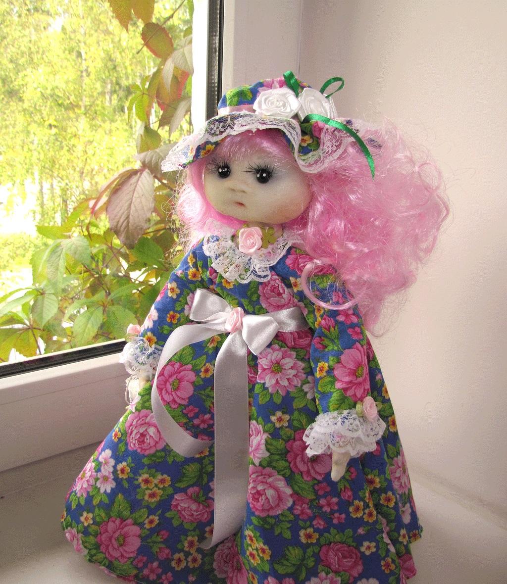 Рукоделие куклы из материала