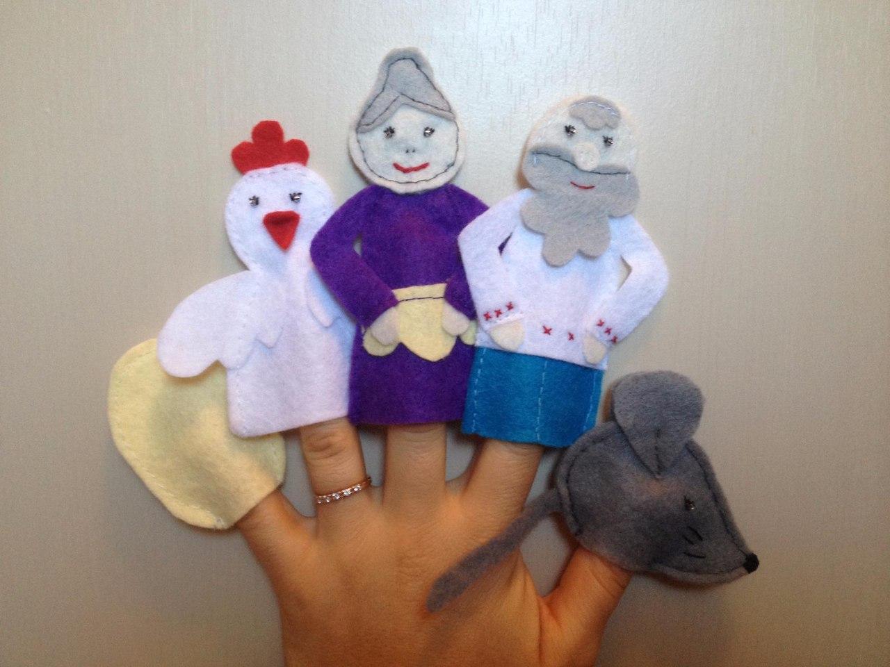 Настольный кукольный театр своими руками: выкройки и описание 37