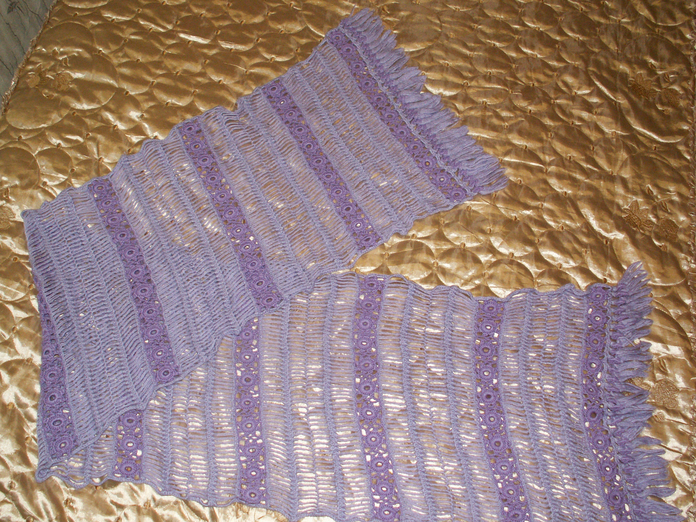 вязание на вилке палантин вязание крючком для начинающих схемы