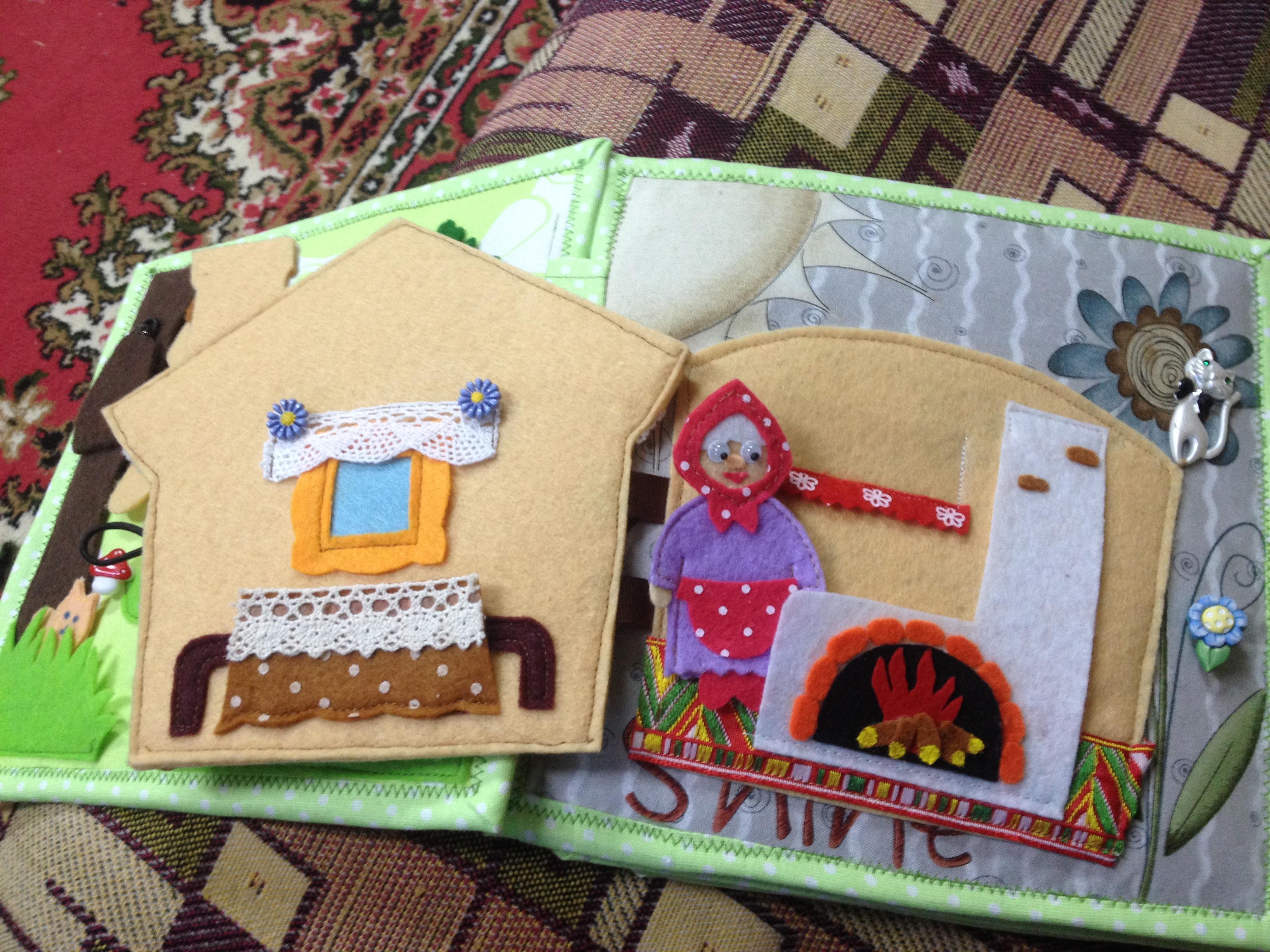 Домик из картона для детей своими руками. Фото