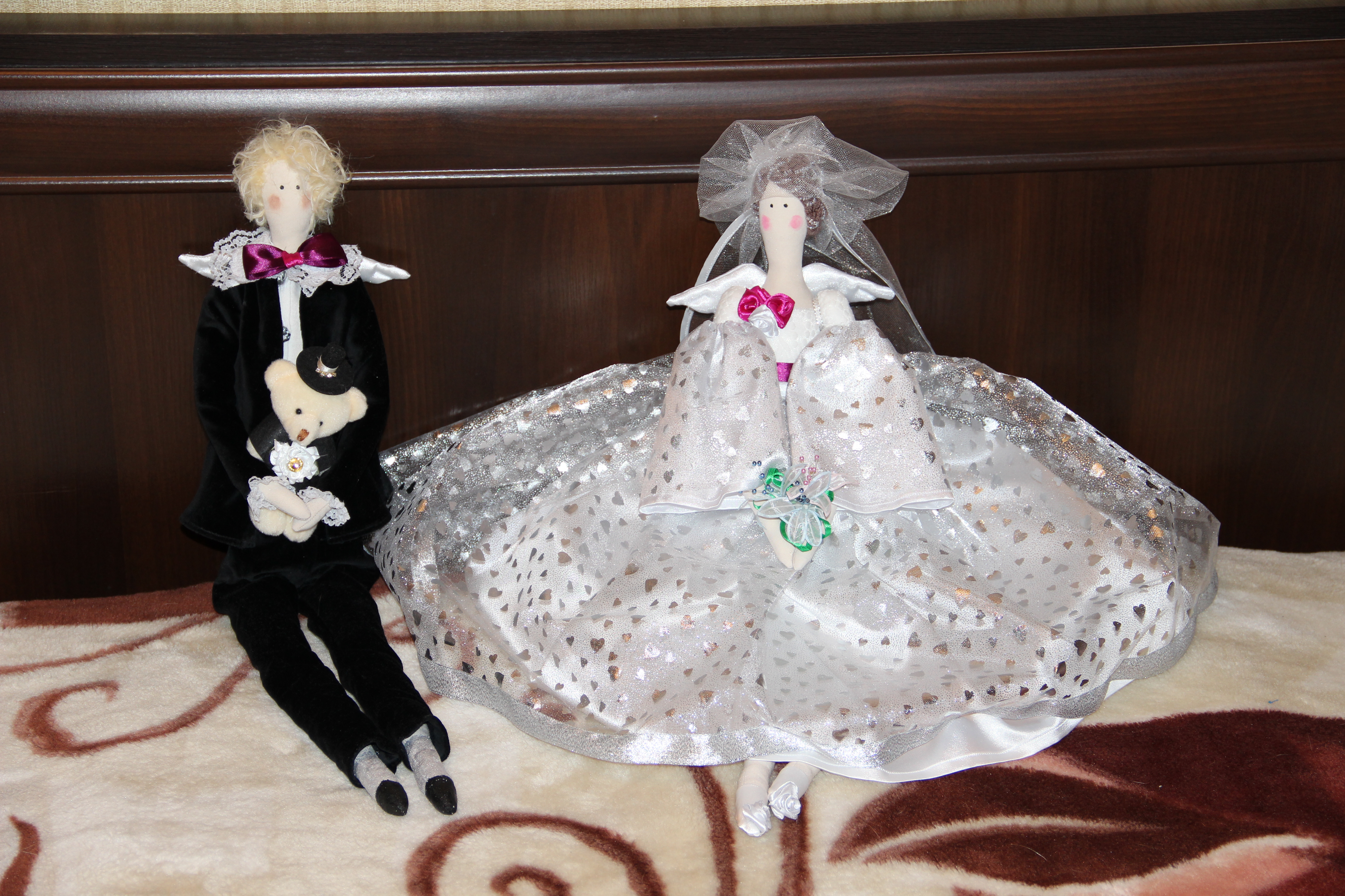 Фото мои поделки к свадьбе