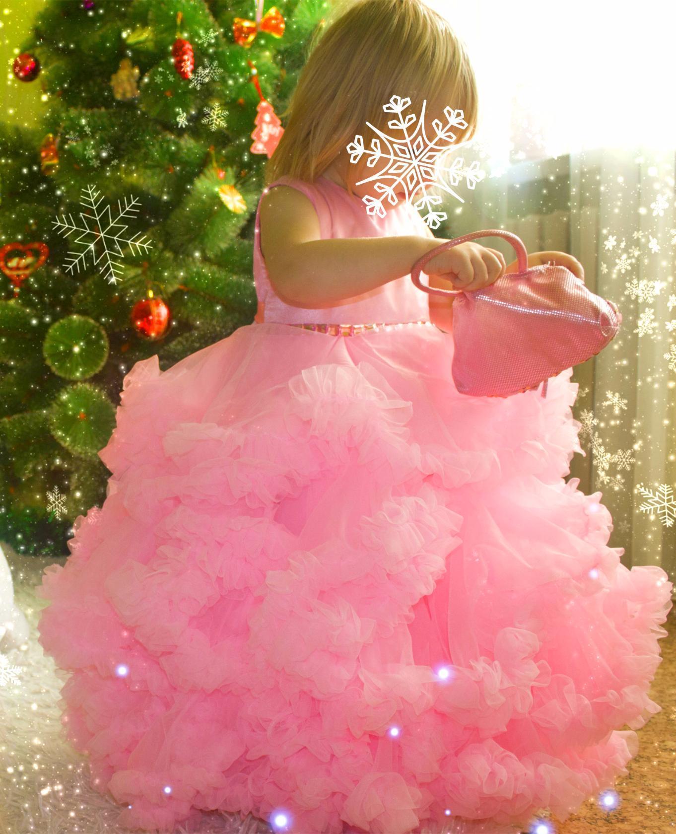 Платье облако своими руками для девочки
