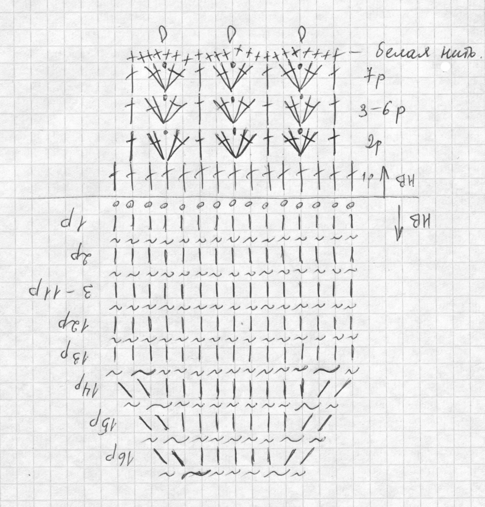 Варежки крючком для малышей схемы и описание