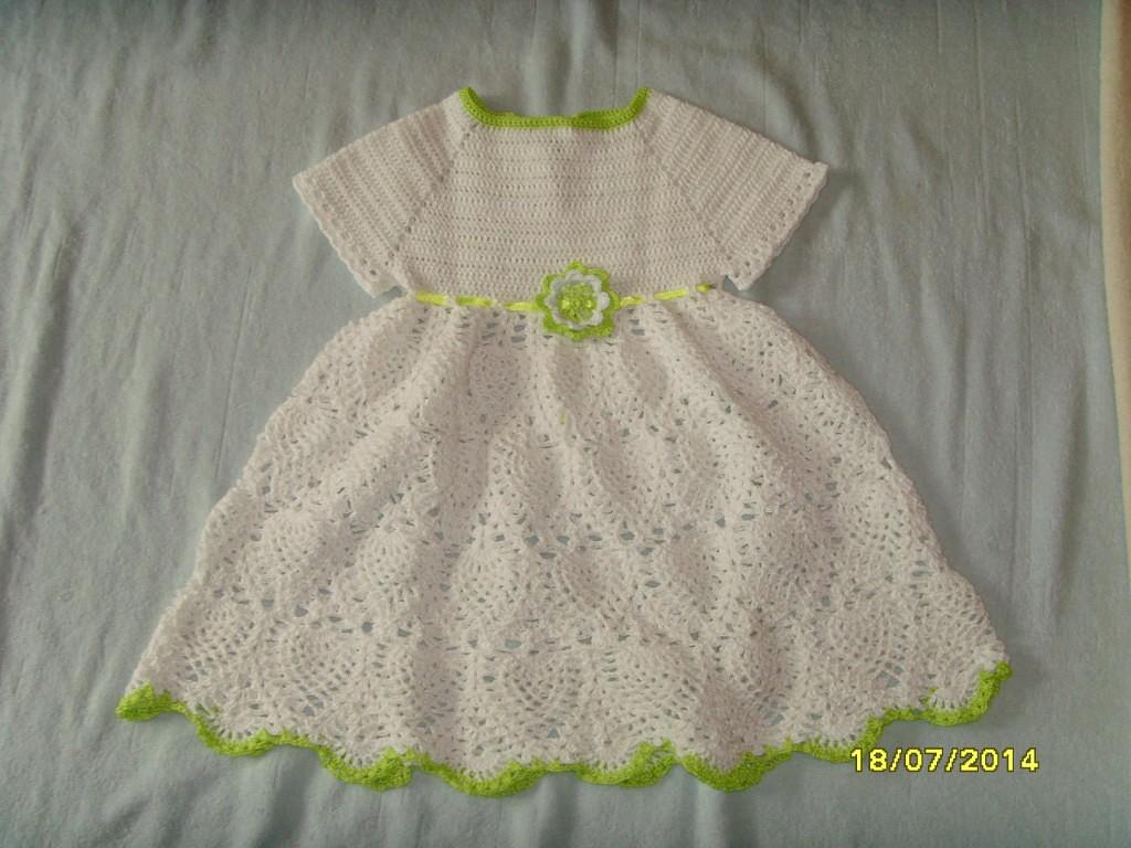 Белое платье для девочки своими руками фото 769
