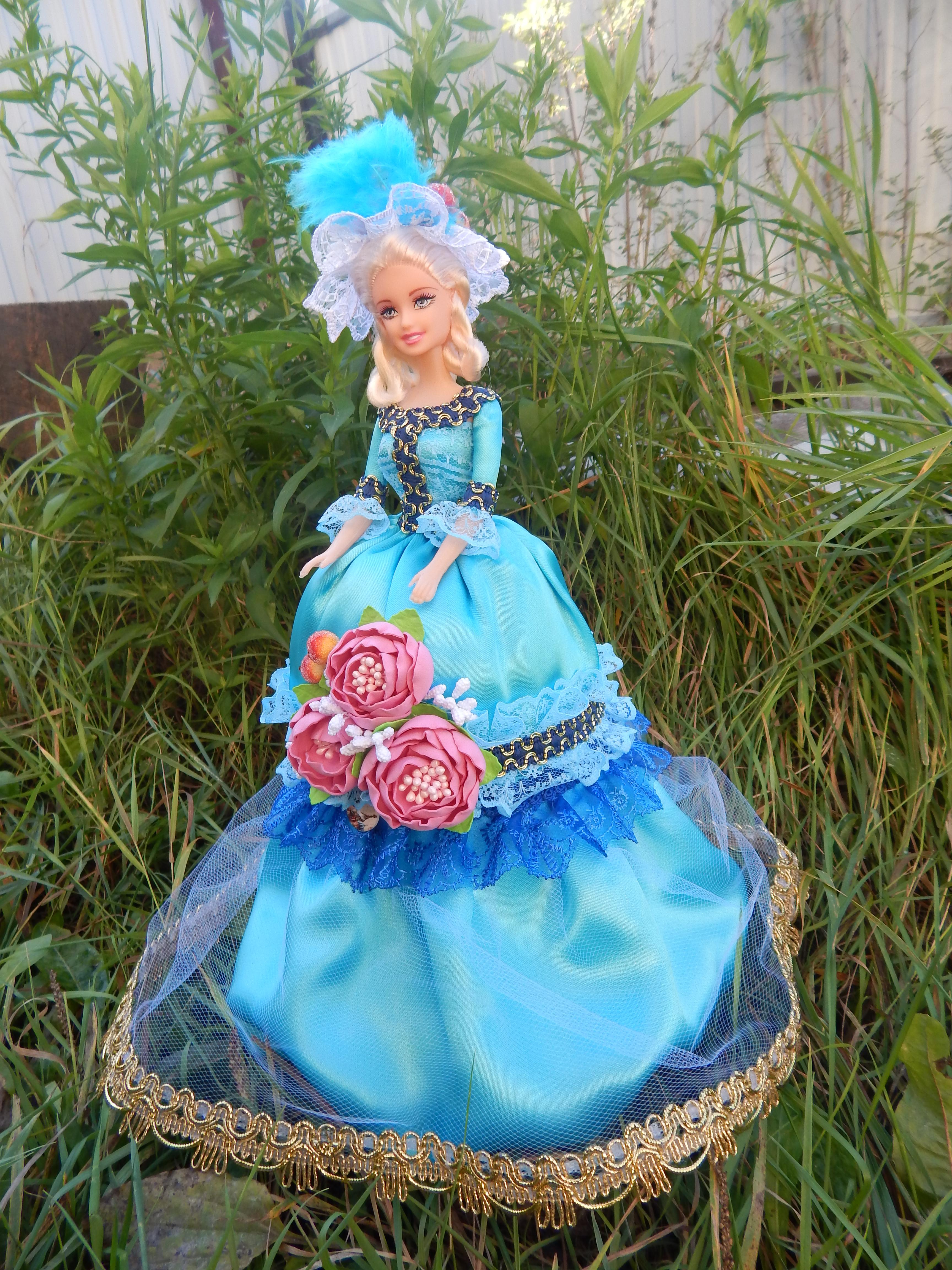 Декорированные куклы-шкатулки - поделки и самоделки своими руками